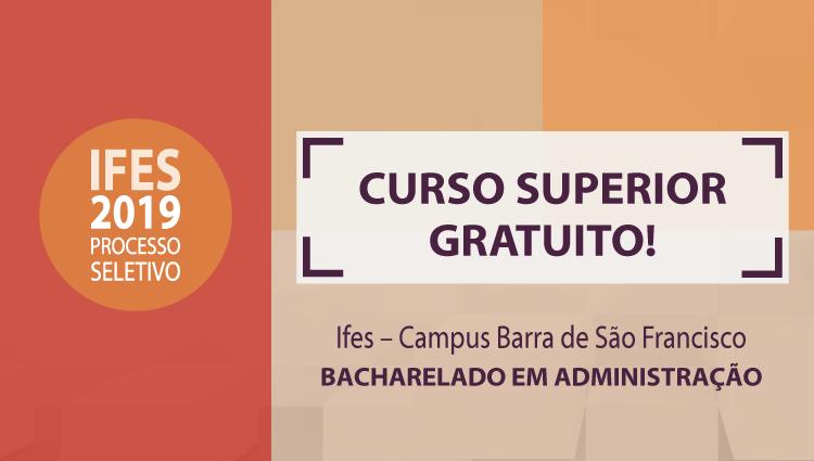 Graduação em Administração - Campus Barra de São Francisco